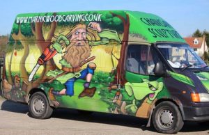Marnic Wood Carving Van